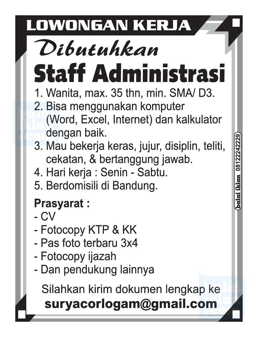 Iklan Lowongan Kerja Di Indonesia Balaiiklan Com